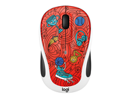Мишки Logitech M238 Doodle Collection, CHAMPION CORAL