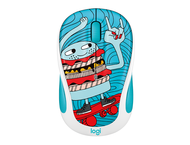 Мишки Logitech M238 Doodle Collection, SKATEBURGER