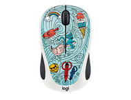 Мишки Logitech M238 Doodle Collection, BAE-BEE BLUE