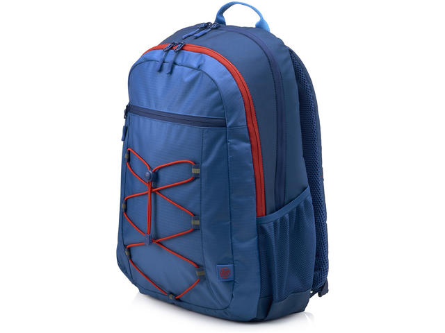 Чанти за Лаптопи HP Active Backpack (Marine Blue/Coral Red)