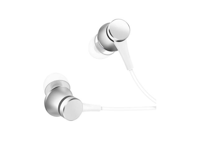 Слушалки Xiaomi Mi In-Ear Headphones Basic, сребристи