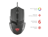 Мишки TRUST GXT 101 Gav Gaming Mouse