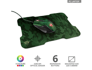 Мишки TRUST GXT 781 Rixa Camo Gaming Mouse & Mouse Pad