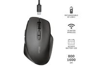 Мишки Trust Themo Rechargeable Wireless Mouse