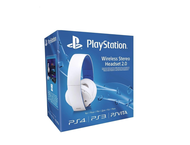 Слушалки Sony PlayStation Wireless Stereo Headset 2.0, в бяло